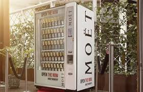 Vending Machine Brisbane Custom Moët Hennessy Launches First Vending Machine In Australia