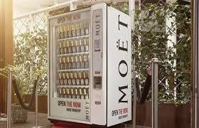 Champagne Vending Machine London Unique Moët Hennessy Launches First Vending Machine In Australia