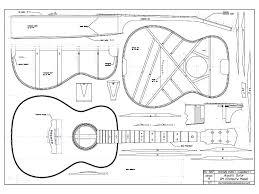 Guitar blueprint