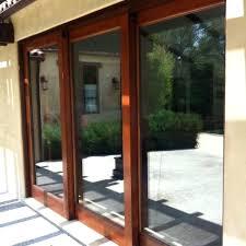 triple sliding glass patio doors