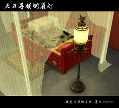 Studio Lights Sims 4 Sims 4 Chinese Style Lamp Sims 4 Sims 4 Studio Sims