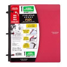 Five Star Graph Paper Notebook Five Star Flex Hybrid Notebinder