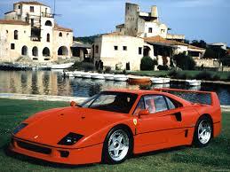 Ferrari F40 1987 Pictures Information Specs