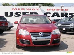 2006 Volkswagen Jetta 2.5 Sedan in Spice Red Metallic - 832377 ...