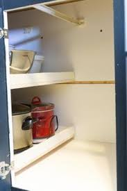 Blind Corner Cabinet Pull Out Shelves How To Build Pull Out Shelves For A Blind Corner Cabinet Part 100 89