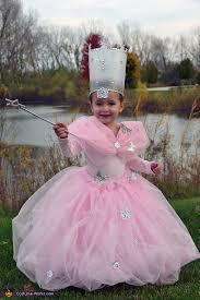 glinda from wizard of oz homemade costume