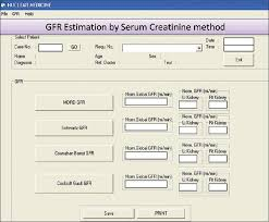 figure 6 serum creatinine method srcrm glomerular filtration rate gfr calculation form this form is used to calculate gfr by srcrm