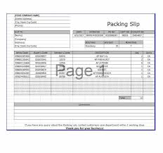 Sample Packing Slip Form 30 Free Packing Slip Templates Word Excel Template Archive