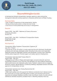 Transport Facility Supervisor Resume Sample Ideas Collection