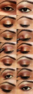15 easy makeup tutorials for brown eyes