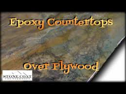 countertops over plywood
