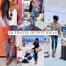 Cute winter women airport outfits ideas Travel Outfit Airport Outfit Idea Cute Fashion Travel Pinterest 2018 Fall Emily Ann Gemma Blog The Sweetest Thing Blog 20 Easy To Recreate Stylish Airport Outfit Ideas The Sweetest
