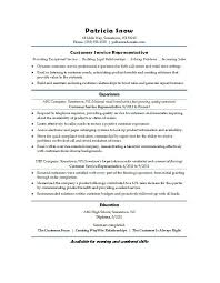 Resume For Customer Service Representative Cool Customer Service R Fancy Customer Service Resume Template Complete