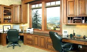 built in home office cabinets. Built In Office Cabinets Custom Home Furniture Desks Impressive Best Decor L