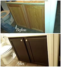 Refinish Cabinet Kit Rust Oleum Cabinet Transformation Review Before After Pictures