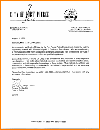 Awesome Collection Of Police Officer Letter Of Recommendation