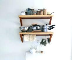 wall mounted kitchen shelf unit wall shelf kitchen cream wall shelves wonderful small kitchen wall shelves