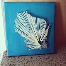 How To Do String Art Diy State String Art I Left My Heart In Wisconsin T H E