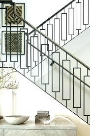 modern metal stair railings interior – delistmo.info