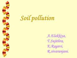 soil pollution authorstream soil pollution