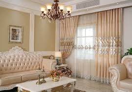 The Louvre   Creamy Bedroom Curtains Design Fabric Drapes+Sheer Eyelet Rod  Pocket