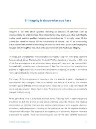 integrity essay examples page zoom in romeo and juliet act  behavior and character 42 41 of integrity integrity essay examples