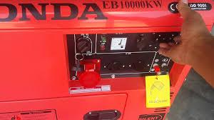 honda diesel generator. Honda EB 10000 DIESEL GENERATOR Diesel Generator O