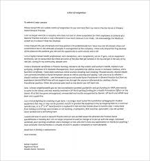 7+ Sample Nursing Resignation Letter Templates - Pdf, Doc | Free ...