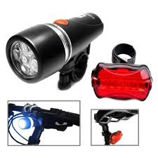 <b>5 LED</b> Lamp <b>Head Bike</b> Light <b>Head</b> Light Tail Light Flashlight <b>5 LED</b> ...