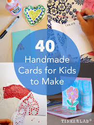 Homemade Cards For Kids To Make