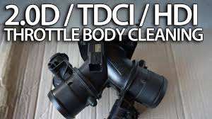 how to clean throttle body in 2 0d hdi tdci 136ps volvo ford how to clean throttle body in 2 0d hdi tdci 136ps volvo ford peugeot diesel engine iat map
