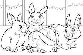 Free Peter Rabbit Coloring Pages Pages Rabbit Color Pages Rabbit