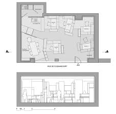 h2o architectes hypernuit 18 creative and highly functional 65 sqm office space in paris architecture small office design ideas