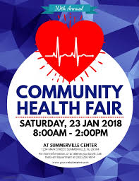 Health Fair Flyers Health Fair Flyer Template Postermywall