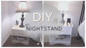 Diy Nightstand Diy Nightstand Affordable Room Decor Youtube