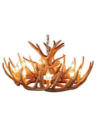 rustic whitetail 12 antler cascade chandelier by muskoka lifestyle s free