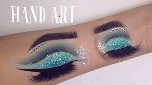 hand art makeup sd drawing gina makeup