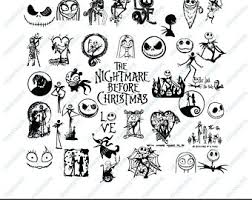 Jack skellington, king of halloween town, discovers christmas town, but his attempts to bring christmas to his home causes confusion. Nightmare Before Christmas Svg Nightmare Before Wedding Etsy