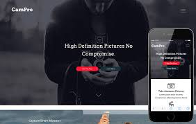 Portfolio Website Templates Interesting Campro A Photographer Portfolio Flat Responsive Web Template By