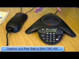 polycom soundstation2 conference phone youtube polycom soundstation 2w manual at Polycom Soundstation Wiring Diagram