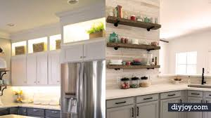 Diy kitchen projects Kitchen Design Diy Joy 34 Diy Kitchen Cabinet Ideas