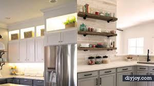 Diy kitchen projects Easy Diy Diy Joy 34 Diy Kitchen Cabinet Ideas