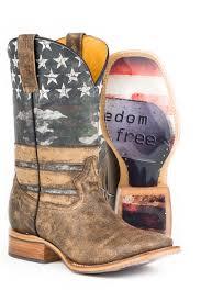 Tin Haul Mens Freedom Cowboy Boots
