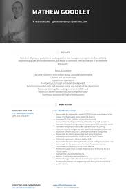 Cook Resume Examples Beauteous Sous Chef Resume Samples VisualCV Resume Samples Database