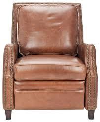 safavieh buddy italian leather recliner modern recliner chairs by safavieh
