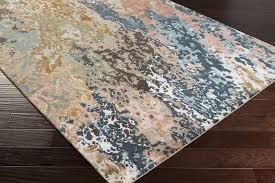 surya chemistry chm navytealgreyblackta black and tan area rug good round area rugs