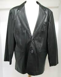 details about mens roundtree yorke genuine lambskin leather black 2 on jacket size xl