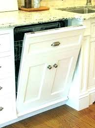 gap between dishwasher and cabinet in countertop