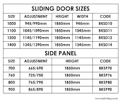 Curtain Sizes Chart Mastercleaner Co