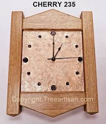 wall clock arts crafts mission inspired